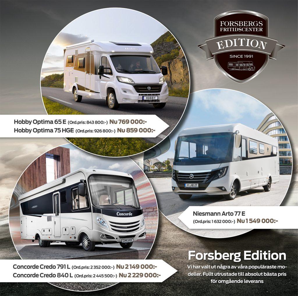 huge discount 4186e c69e9 Forsbergs Edition – Våra egna jubileumsbilar!