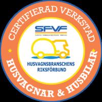 Logo SFVF Certifierad Verkstad